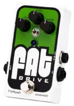 Pigtronix  Fat Drive - Analog Tube Emulator & Overdrive Guitar Effects Pedal